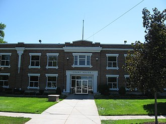Power County, Idaho - Image: Power County Courthouse