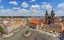 Tšekki--Prague 07-2016 View from Old Town Hall Tower img3