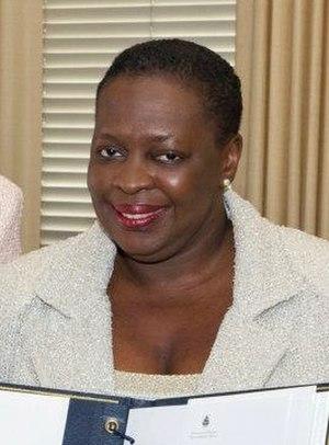 Afro-Bermudian - Image: Premier Paula Cox