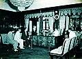 President Magsaysay at his study at Malacañang Palace c.1953.jpg