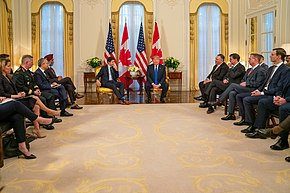 President Trump Meets with Canadian Prime Minister Trudeau (49168342367).jpg
