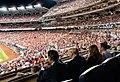 President Trump at the World Series Game (48974967668).jpg