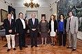 Presidenta de la República recibe al Premio Nobel de Física, Brian Schmidt (16581587979).jpg