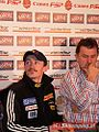 Press conference - WC Ski Jumping Zakopane 2006 - Małysz, Federer.jpg