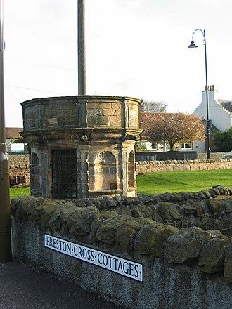Preston, Prestonpans - Image: Preston Mercat Cross 3