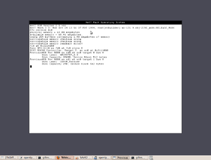 Previous (software) - Image: Previous 0.3 Boot to ROM Monitor