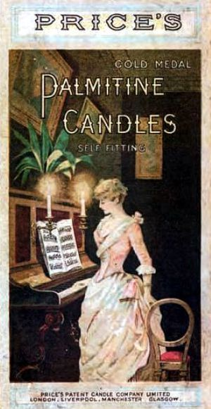 Candle - Price's Candles became the largest candle manufacturer in the world by the end of the 19th century