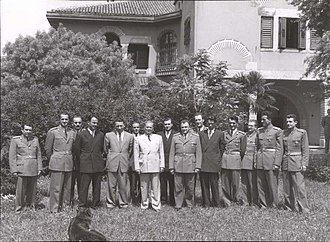 State Security Administration - Josip Broz Tito with representatives of UDBA, 1951.