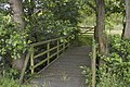 Private footbridge near Fallclough Plantation - geograph.org.uk - 1409556.jpg