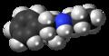 Propylamphetamine molecule spacefill.png