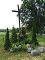 Przydrożny krzyż koło wsi Kudypy - panoramio.jpg