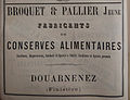 Publicité Broquet et Pallier jeune 1882.jpg