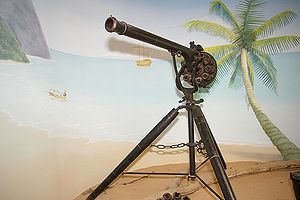 James Puckle - Replica Puckle gun from Buckler's Hard Maritime Museum