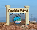 Pueblo West sign.JPG