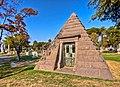 Pyramid Mausoleum - Crypt Daniel D. Teoli Jr..jpg