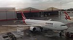Qantas Boeing 767-338ER at Sydney International Airport -- 25 April 2014.jpg