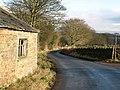Quiet lane near Corn Park - geograph.org.uk - 656108.jpg
