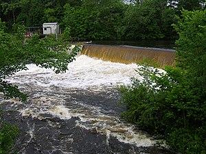 Quinebaug River - Image: Quinebaug Danielson