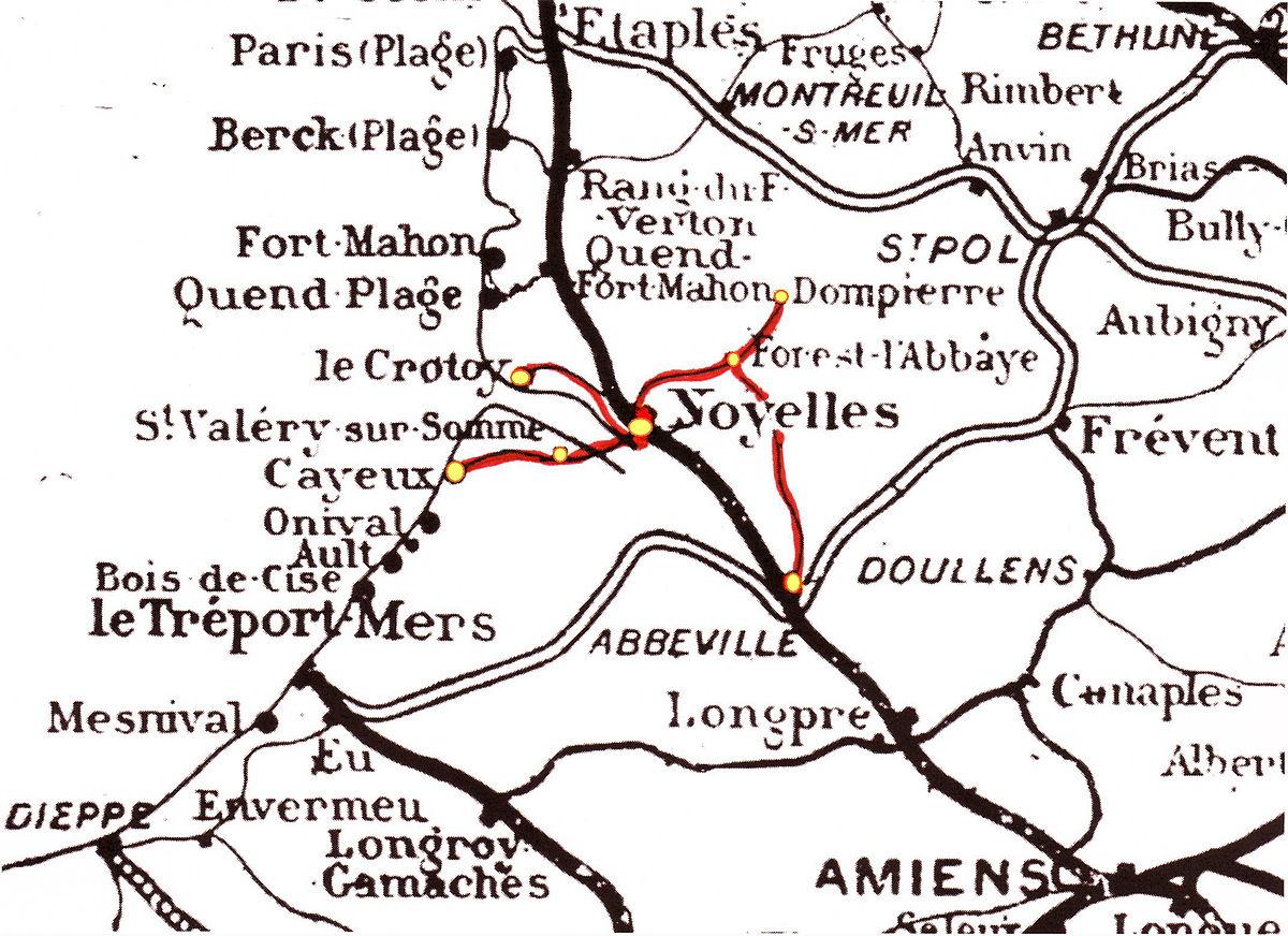 Chemin De Fer La Baie Somme Wikipdia