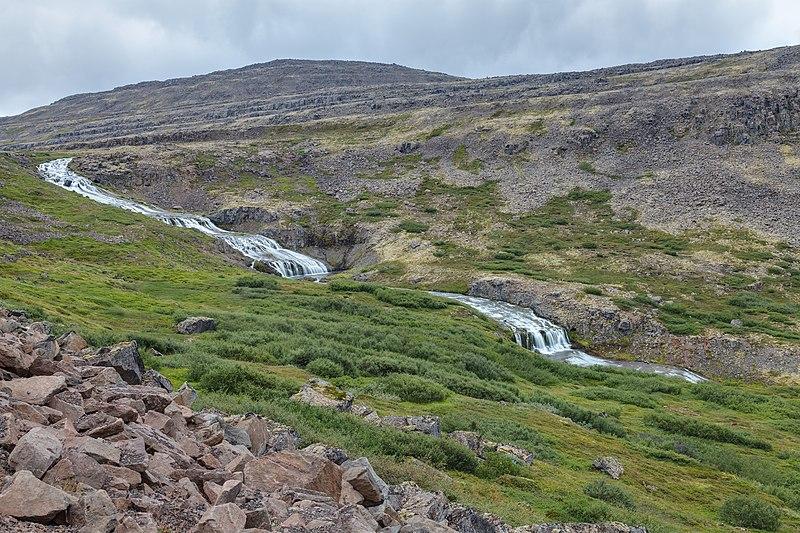File:Río Dynjandisá, Vestfirðir, Islandia, 2014-08-14, DD 118-120 HDR.JPG