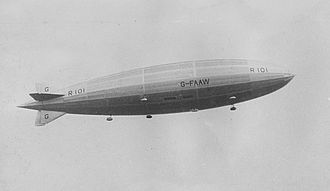 R101 - R101 in flight