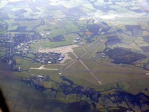 MoD Lyneham - Aerial view