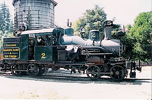 Roaring Camp & Big Trees Narrow Gauge Railroad - Image: RCBT Tuolumne