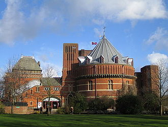 Theatre of the United Kingdom - The Royal Shakespeare Theatre, opened in Stratford-upon-Avon in 1932, named after the famous playwright, William Shakespeare