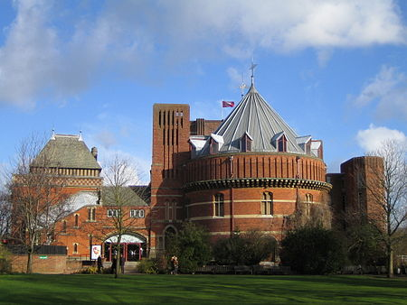 The Royal Shakespeare Theatre, opened in Stratford-upon-Avon in 1932, named after the famous playwright, William Shakespeare