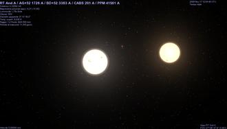 RT Andromedae - Image: RT Andromedae system