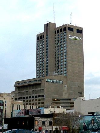 Canad Inns - Radisson hotel in downtown Winnipeg, Manitoba