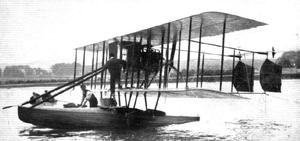 James Radley - Radley-England seaplane in 1913