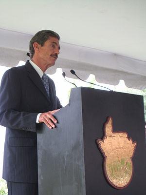 Rafael Rangel Sostmann - At the 65th anniversary ceremony of the Monterrey Institute of Technology (ITESM).
