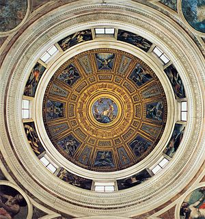 Raffaello Sanzio - Dome of the Chigi Chapel - ...