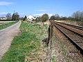 Railway and road meet at Little London, Spalding, Lincs - geograph.org.uk - 154750.jpg