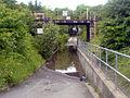 Railway bridge next to works - geograph.org.uk - 468637.jpg