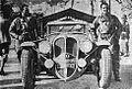 Rallye Monte Carlo 1937, Le Bègue et Quilin vainqueurs sur Delahaye.jpg