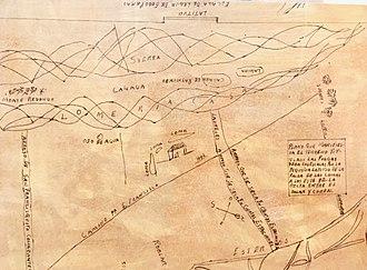 Rancho de las Pulgas - Diseños of land grant