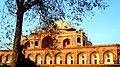 Rare view of Humayun's Tomb.jpg