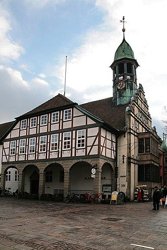 Nienburg, Lower Saxony - Town hall