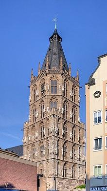 Municipio di colonia wikipedia for Piani di cabina della torre di fuoco