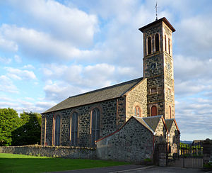 Blairgowrie and Rattray - Rattray church.
