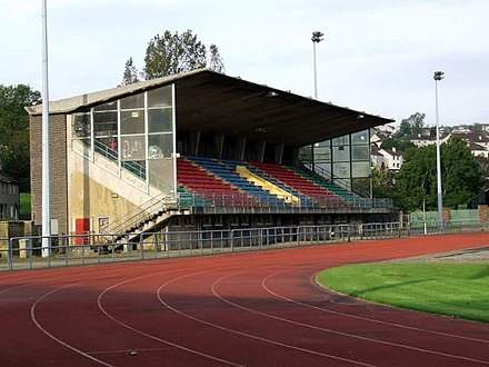 Ravenscraig Stadium hosted the first official match played by the Scotland women's team, in November 1972. Ravenscraig Stadium - geograph.org.uk - 996781.jpg