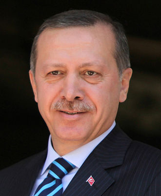 Secularism in Turkey - President Recep Tayyip Erdoğan promotes the Islamization in Turkey, which allows women to choose to wear hijabs in public.