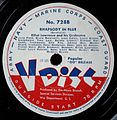 Record Label Vdisc, Rhapsody In Blue.jpg