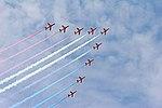 Red Arrows - RIAT 2007 (3089192492).jpg