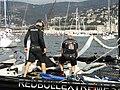 Red Bull Xtreme Sailing Team Steinacher & Hagara, bei der Barcolana, Trieste (TS) Italien.jpg