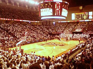 Reed Arena Sports arena on Texas A&M campus in College Station, Texas