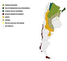 220px Regiones forestales de Argentina