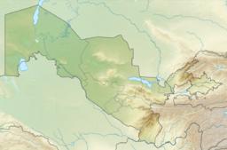 Situo enkadre de Uzbekio